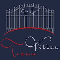 Logo TraumVillen quadrato blu2 250×250