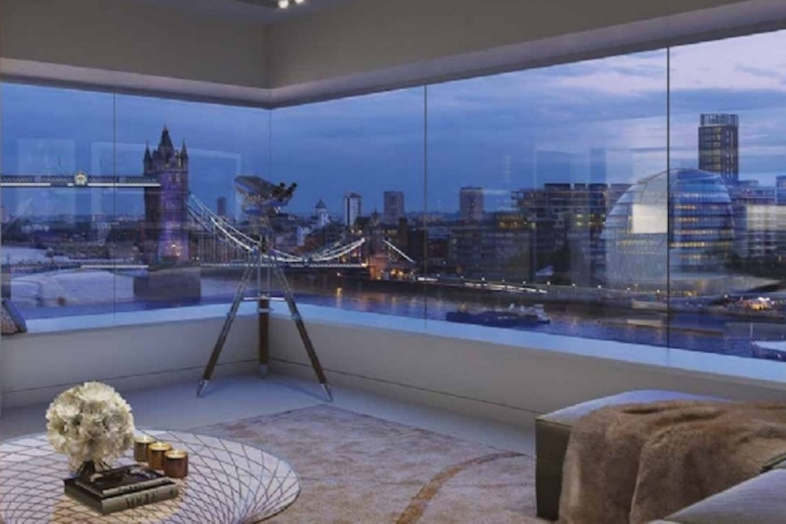 Riverside Penthouse in London 05