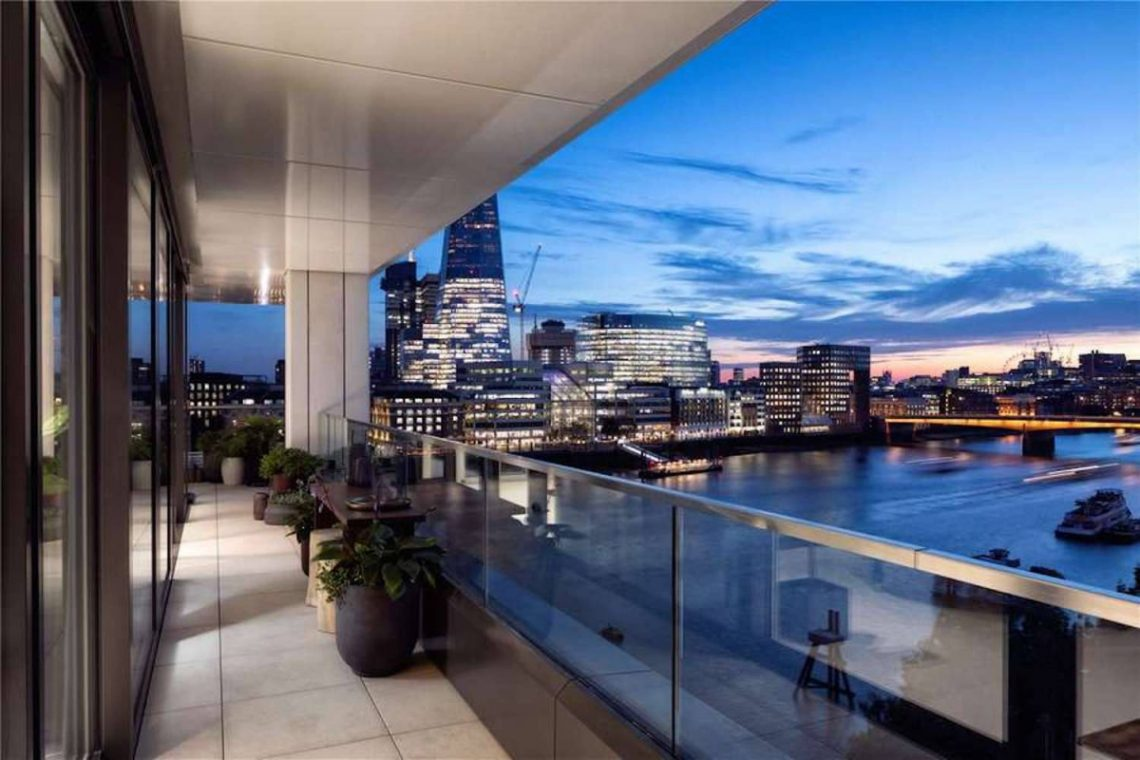 Riverside Penthouse in London 08