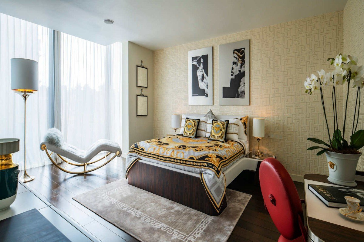 2 bed apartment in London by Versace