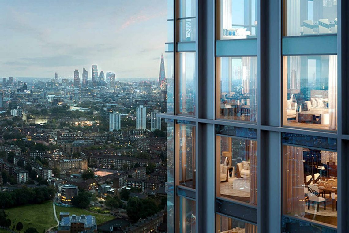2 bed apartment in London 21