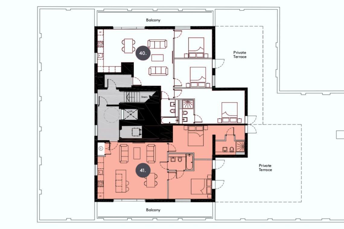 apartment in Uxbridge for sale 36
